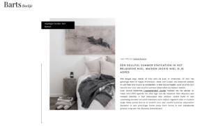 preview of article maison jackie barts boekje